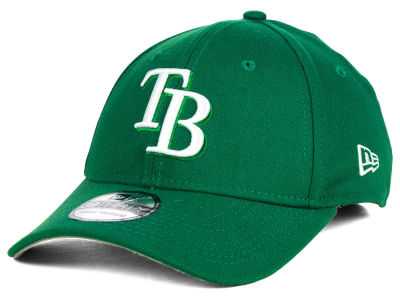Tampa Bay Rays New Era MLB St. Patty Classic 39THIRTY Cap