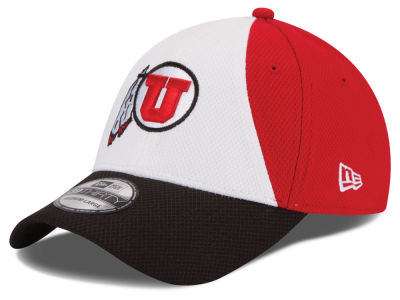 Utah Utes New Era NCAA Game Performance 39THIRTY Cap