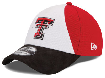 Texas Tech Red Raiders New Era NCAA Game Performance 39THIRTY Cap