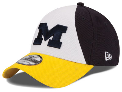 Michigan Wolverines New Era NCAA Game Performance 39THIRTY Cap