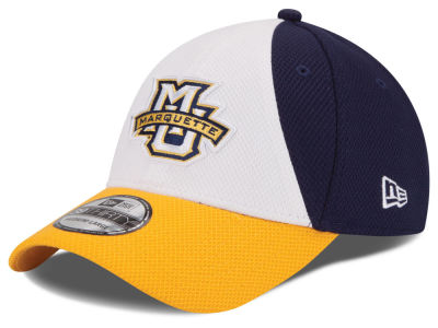 Marquette Golden Eagles New Era NCAA Game Performance 39THIRTY Cap