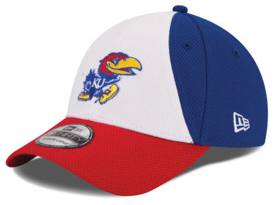 Kansas Jayhawks New Era NCAA Game Performance 39THIRTY Cap