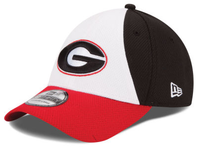 Georgia Bulldogs New Era NCAA Game Performance 39THIRTY Cap