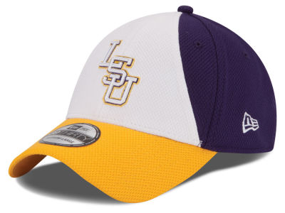 LSU Tigers New Era NCAA Game Performance 39THIRTY Cap