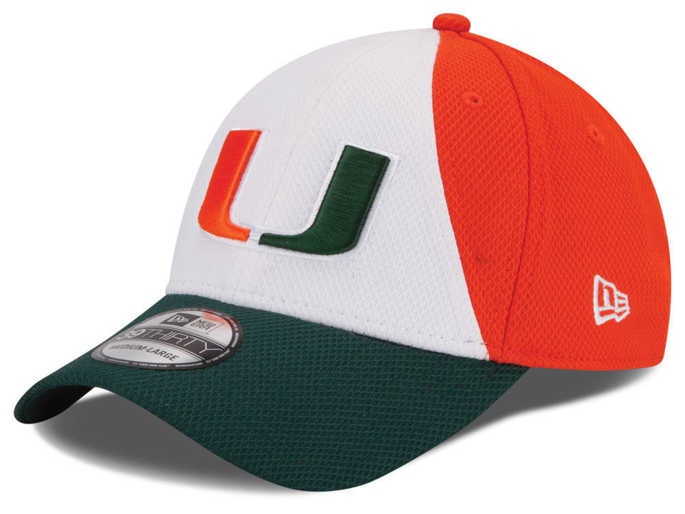 separation shoes 9cab7 8500d ... cheapest miami hurricanes new era ncaa game performance 39thirty cap  e8a36 2198e