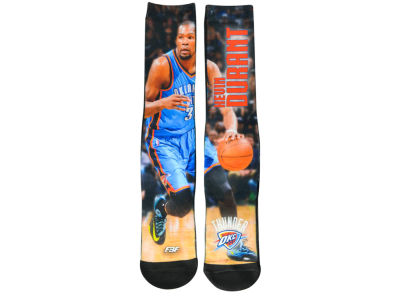Oklahoma City Thunder Kevin Durant Player Mesh Crew Sock