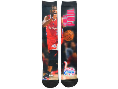 Los Angeles Clippers Chris Paul For Bare Feet NBA Mega Mesh Crew 308S Sock