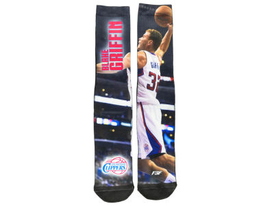 Los Angeles Clippers Blake Griffin For Bare Feet NBA Mega Mesh Crew 308S Sock