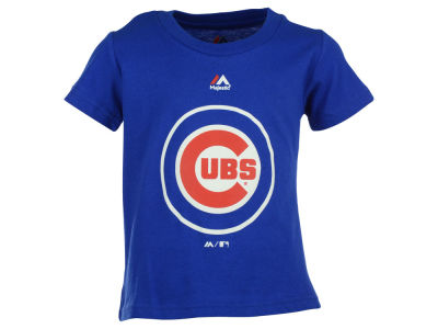 Chicago Cubs Majestic MLB Toddler Primary Logo T-Shirt