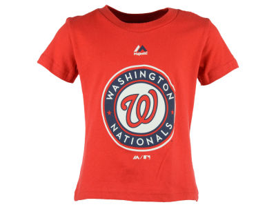 Washington Nationals MLB Toddler Primary Logo T-Shirt