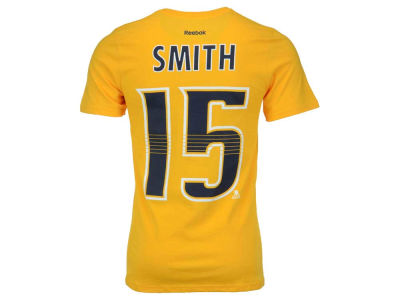 Nashville Predators Craig Smith Reebok NHL Men's Player T-Shirt