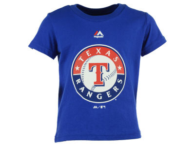 Texas Rangers MLB Toddler Primary Logo T-Shirt