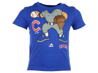 Chicago Cubs MLB Infant Pint-Sized Pitcher T-Shirt