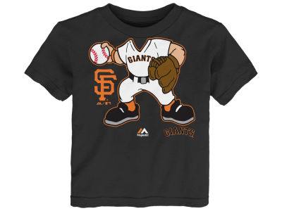 San Francisco Giants MLB Infant Pint-Sized Pitcher T-Shirt