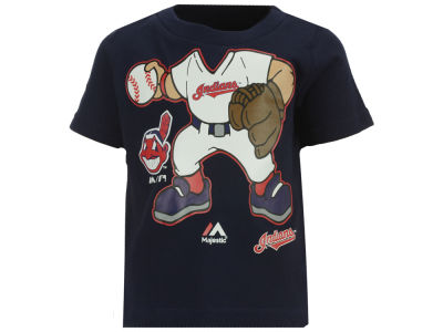 Cleveland Indians Majestic MLB Infant Pint-Sized Pitcher T-Shirt