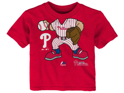 Philadelphia Phillies MLB Infant Pint-Sized Pitcher T-Shirt