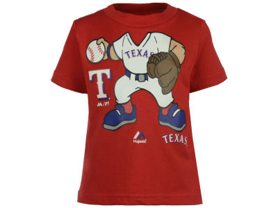 Texas Rangers MLB Infant Pint-Sized Pitcher T-Shirt