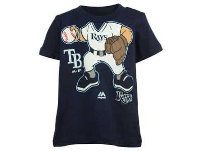 Tampa Bay Rays Majestic MLB Infant Pint-Sized Pitcher T-Shirt