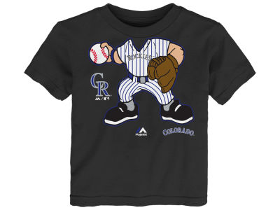 Colorado Rockies MLB Infant Pint-Sized Pitcher T-Shirt