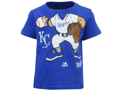 Kansas City Royals MLB Infant Pint-Sized Pitcher T-Shirt
