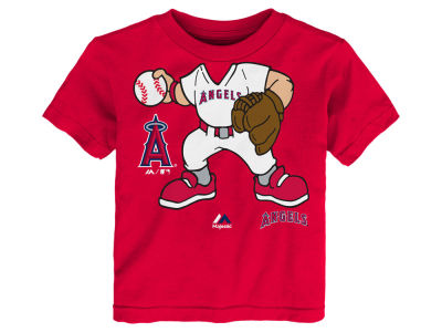 Los Angeles Angels MLB Toddler Pint Sized Pitcher T-Shirt