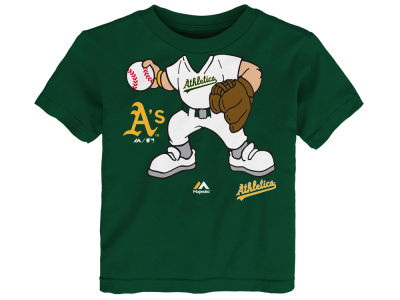 Oakland Athletics MLB Toddler Pint Sized Pitcher T-Shirt