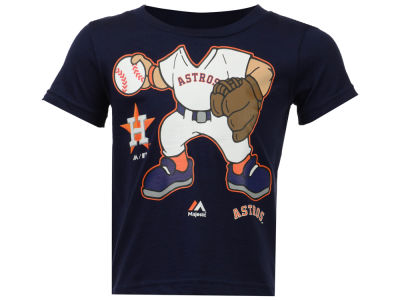 Houston Astros MLB Toddler Pint Sized Pitcher T-Shirt