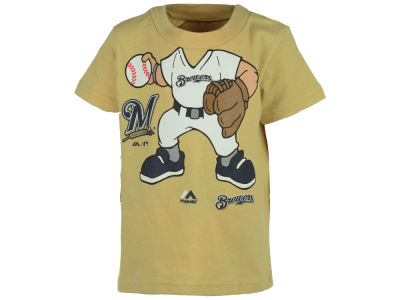Milwaukee Brewers MLB Toddler Pint Sized Pitcher T-Shirt