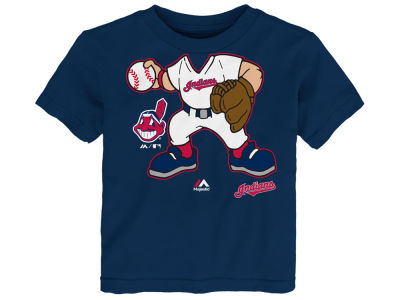Cleveland Indians MLB Toddler Pint Sized Pitcher T-Shirt