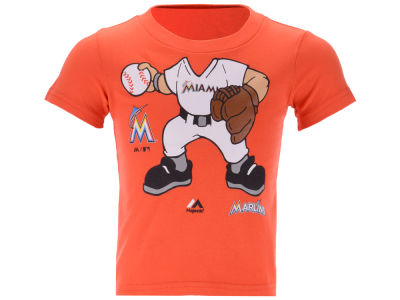Miami Marlins MLB Toddler Pint Sized Pitcher T-Shirt