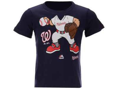 Washington Nationals Majestic MLB Toddler Pint Sized Pitcher T-Shirt
