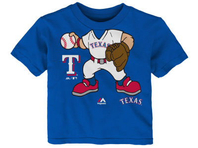 Texas Rangers Majestic MLB Toddler Pint Sized Pitcher T-Shirt