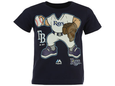 Tampa Bay Rays MLB Toddler Pint Sized Pitcher T-Shirt