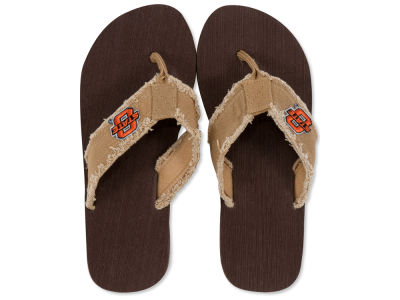 Oklahoma State Cowboys Frayed Flip Flop