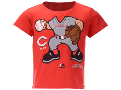 Cincinnati Reds MLB Toddler Pint Sized Pitcher T-Shirt