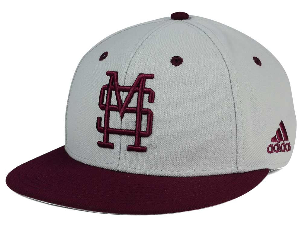 Mississippi State Bulldogs adidas NCAA On Field Baseball Cap  dce4e431876
