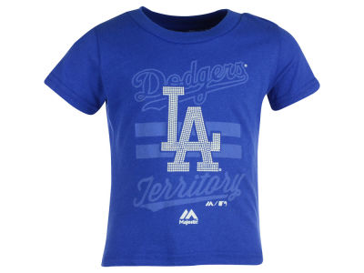 Los Angeles Dodgers MLB Toddler Girls Crushing It T-Shirt