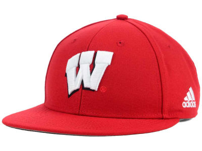 Wisconsin Badgers adidas NCAA On Field Baseball Cap