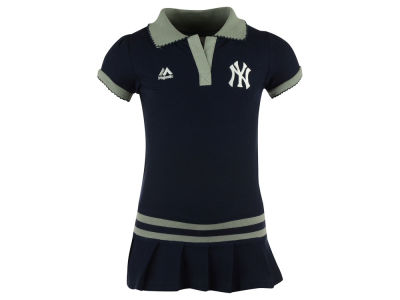 New York Yankees MLB Toddler Polo Dress