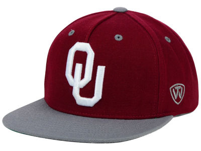 Oklahoma Sooners Top of the World NCAA Kong Snapback Cap