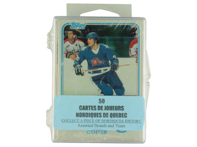 Quebec Nordiques 50 Card Pack-Assorted