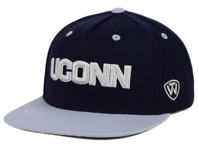 Connecticut Huskies Top of the World NCAA Kong Snapback Cap