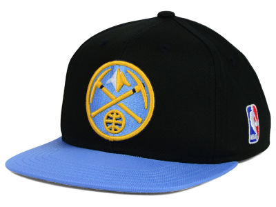 Denver Nuggets Mitchell and Ness NBA Youth XL Logo Snapback Cap