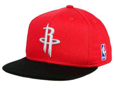 Houston Rockets Mitchell and Ness NBA Youth XL Logo Snapback Cap