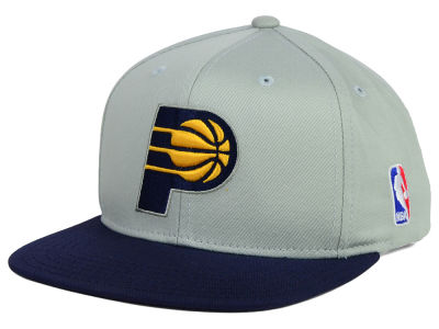 Indiana Pacers Mitchell and Ness NBA Youth XL Logo Snapback Cap