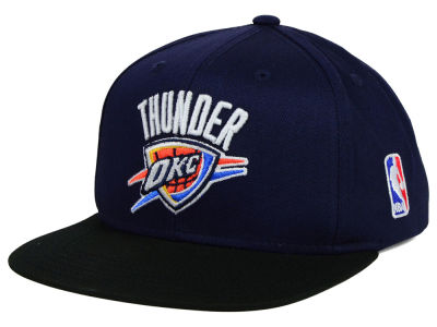 Oklahoma City Thunder Mitchell and Ness NBA Youth XL Logo Snapback Cap