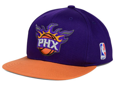 Phoenix Suns Mitchell and Ness NBA Youth XL Logo Snapback Cap