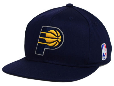 Indiana Pacers Mitchell and Ness NBA Youth Solid Snapback Cap