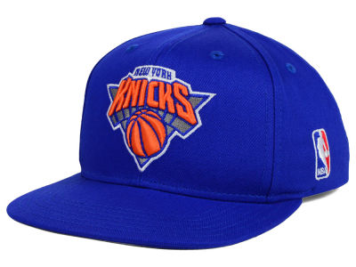 New York Knicks Mitchell and Ness NBA Youth Solid Snapback Cap