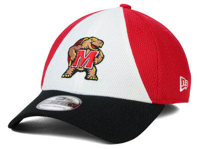 Maryland Terrapins New Era NCAA Game Performance 39THIRTY Cap